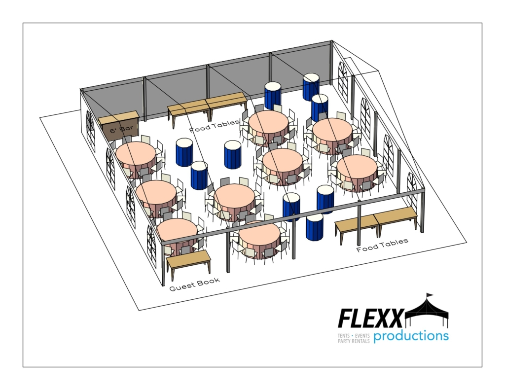 40×40-clearspan-special-event-layout-3d-3