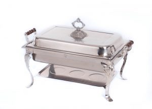 Rectangular Chaffer 8QT Decor