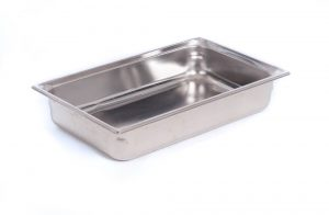 Chaffer Food Pan (8QT 4 Inches Deep)