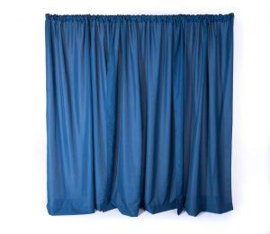 Royal Blue Pipe & Drape 8' (Per FT)