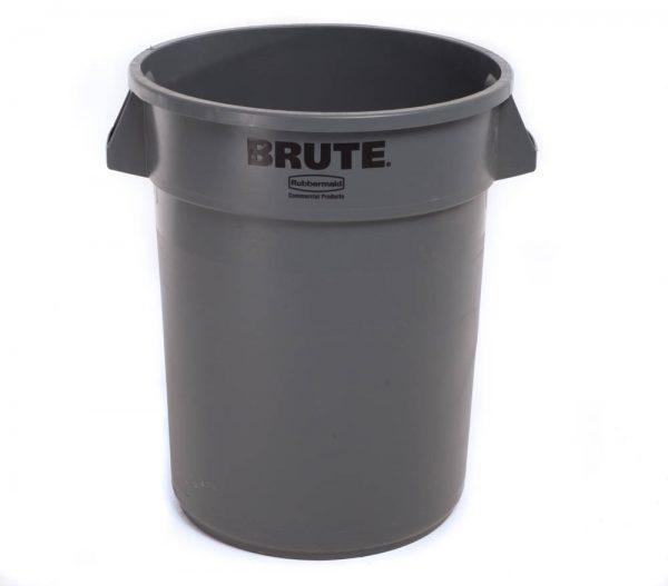 Plastic Trash Can 32 Gallon