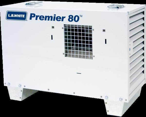 White Heater (80000BTU w/40LBS Propane)