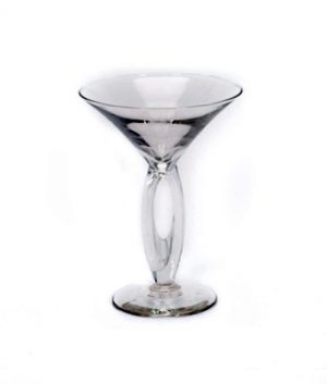 Image of 6.75 ounce martini glass available through FLEXX Productions' glassware rentals.