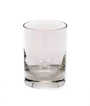 Image of 10.5 ounce rocks glass available through FLEXX Productions glassware rentals.