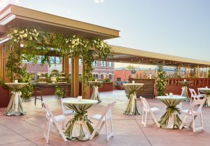 Elizabeth Hotel Terrace Reception