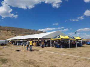 UNC Tailgate Tent 2