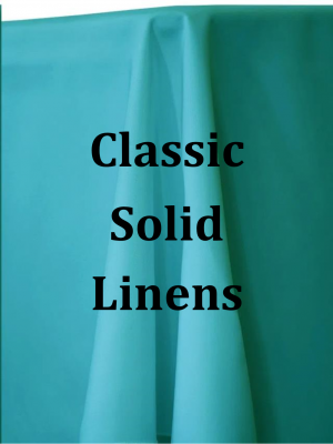 Solid Classic Linens
